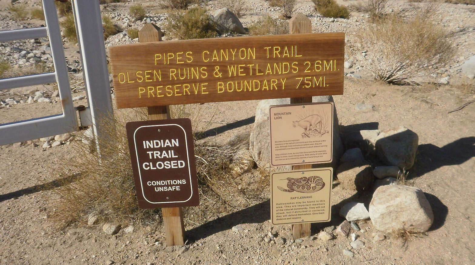 Pipes Canyon